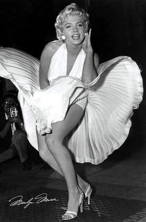 Секс-символ Америки - Мерлин Монро. Фото.
