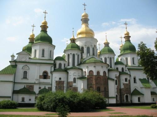 Софийский собор внесенный в список Всемирного наследия ЮНЕСКО.