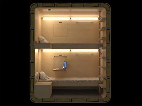 SLEEPBOX – это персональный капсульный мини отель