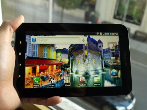 Отзывы о Samsung Galaxy Tab (GT-P1000)