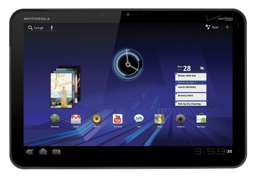 Отзывы Motorola Xoom